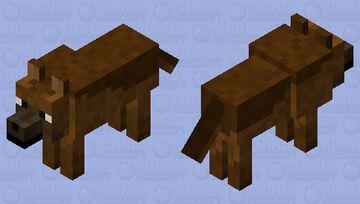 German Shepherd (Wolf Skin) Minecraft Mob Skin
