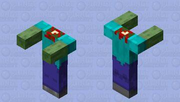 Headless Zombie Minecraft Mob Skin
