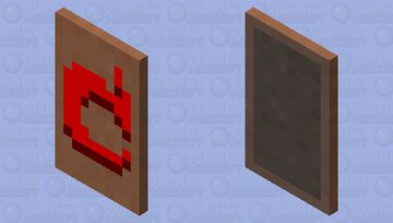 Red apple Minecraft Mob Skin