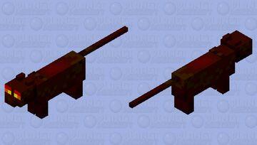 Magma Cat Minecraft Mob Skin