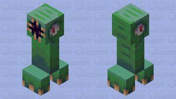 Big mouth creeper Minecraft Mob Skin