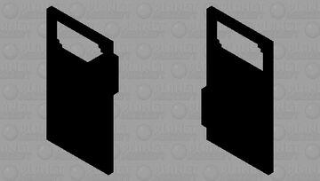 Black Shield with Window Minecraft Mob Skin