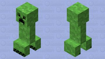 Grassier Creeper Minecraft Mob Skin