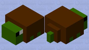 Baby turtle Minecraft Mob Skin