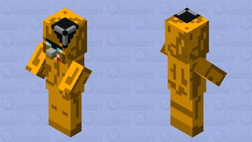 Freddy Faz Trayaurus (Five Nights at Trayaurus) Minecraft Mob Skin