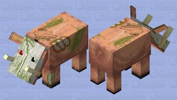 Skull zoglin Minecraft Mob Skin