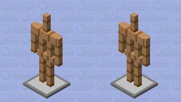 Armor Stand Remake Minecraft Mob Skin
