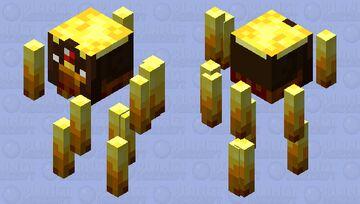 Minecraft - Wildfire/Hovering Inferno Minecraft Mob Skin