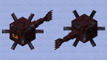 Lava Guardian Minecraft Mob Skin