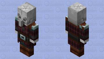 skeleton pillager Minecraft Mob Skin