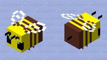 альфа пчела Minecraft Mob Skin