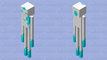 Warped Enderman (Warperman) Minecraft Mob Skin