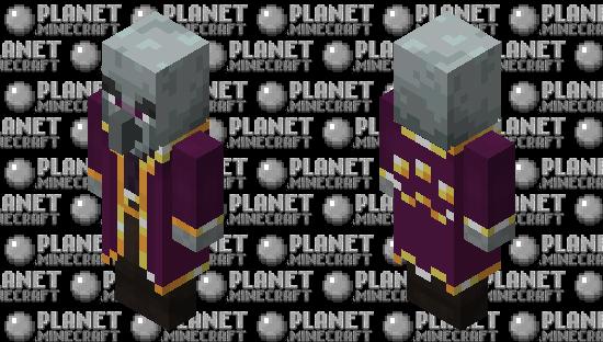 Mage Illager(Minecraft Dungeon)(Re-Texturing) Minecraft Skin