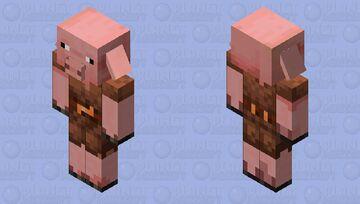 pig piglin Minecraft Mob Skin