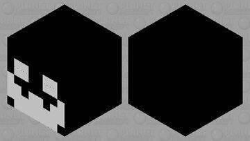 Black & white magma cube Minecraft Mob Skin