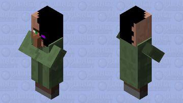 Mutated EnderVillager Minecraft Mob Skin