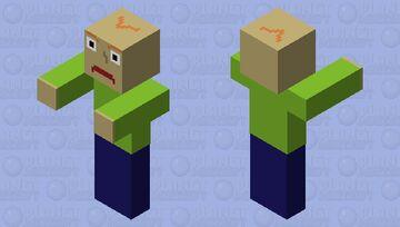 Baldi (creepypasta) Minecraft Mob Skin