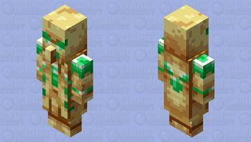 Evoker of Undying(Totem of Undying Palette) Minecraft Mob Skin
