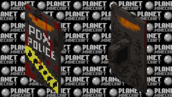 Zombie apocalypse riot shield Minecraft Skin