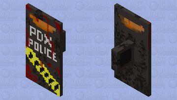 Zombie apocalypse riot shield Minecraft Mob Skin