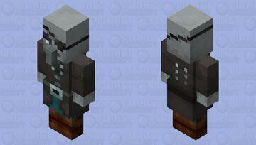 The Captain Illager (Vindicator) (Retexture) Minecraft Mob Skin