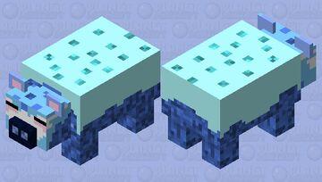 (bedrock) panda( im new to making skins :) Minecraft Mob Skin