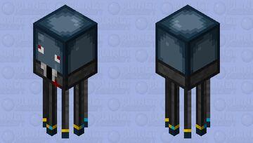 Tuxedo Squid Minecraft Mob Skin