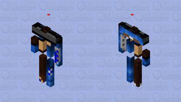 Skin blue bird Minecraft Mob Skin