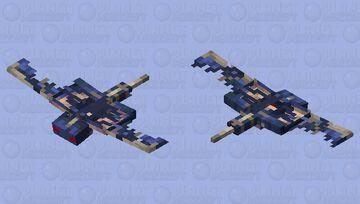 Evil Phantom Minecraft Mob Skin