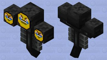 is scarier now Minecraft Mob Skin