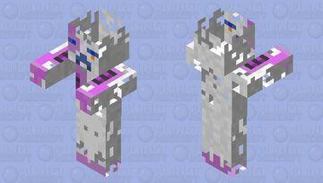 Zombender (Enderman Zombie) Minecraft Mob Skin