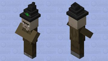 Mix of secret revealed and noseless which Minecraft Mob Skin