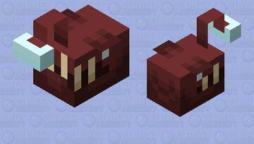 Angler Fish (Deep Dark Oceans And Lakes) Minecraft Mob Skin