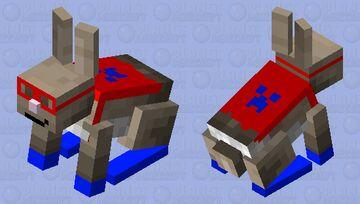 Super rabbit! Minecraft Mob Skin
