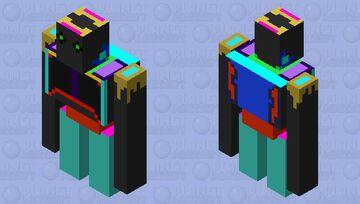 a weird iron golem? Minecraft Mob Skin