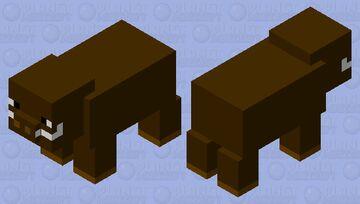 Wort Hog? Minecraft Mob Skin