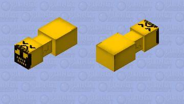 Bridge worm but he banana Minecraft Mob Skin