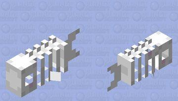 Spoopy Fish Minecraft Mob Skin