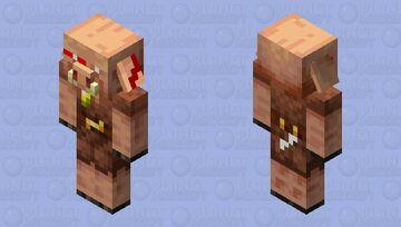 Piglin warrior Minecraft Mob Skin