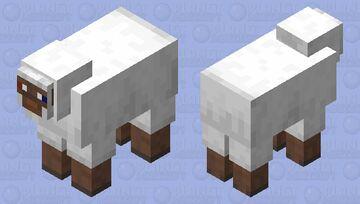 Two eyed sheep Minecraft Mob Skin