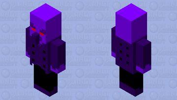 Void Vindicator Minecraft Mob Skin