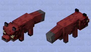 Nether Fox Minecraft Mob Skin