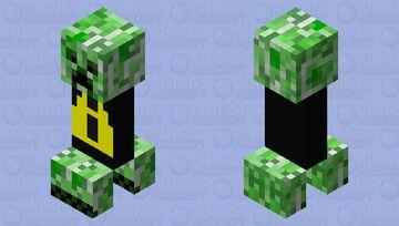 danger creeper Minecraft Mob Skin