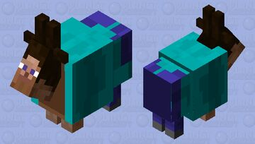 Goateve Minecraft Mob Skin
