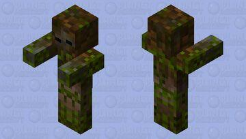 Swamp Zombie Minecraft Mob Skin
