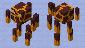 Improved Blaze Model Minecraft Mob Skin