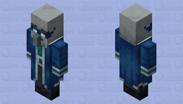 The Iceologer/Chillager (Retexture) (Ver.4) Minecraft Mob Skin