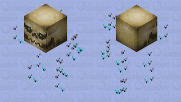 Stinky skull Minecraft Mob Skin