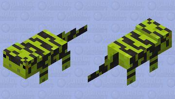 Tiger Salamander Minecraft Mob Skin