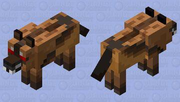 Aggressive Dire Wolf Minecraft Mob Skin